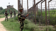 NEW DELHI, India -- Indian army officials said Tuesday that two of their soldiers were slain by Pakistani troops who attacked an Indian military post in Kashmir, the second fatal clash in the divided region in two days.