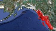 Juneau officials say the powerful earthquake that struck southeast Alaska late Friday night was possibly to blame for damage to a sewer line and two water valves.