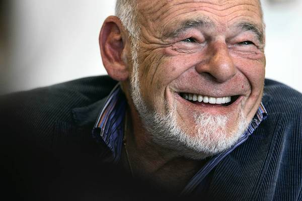 Tribune Company CEO Sam Zell during an interview at the Los Angeles Times. Despite signs that Tribune Co.'s newspapers and television stations were under growing pressure from a slowdown in advertising revenue, the company's leadership and a group of sophisticated Wall Street bankers embraced Zell's vision, piling the company with a total of $13 billion in debt.