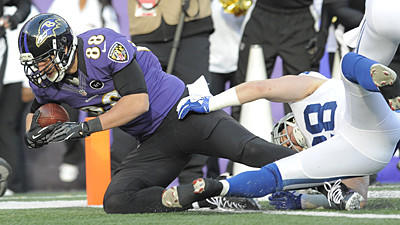 Tale of the Tape: Dennis Pitta's TD catch vs. the Colts