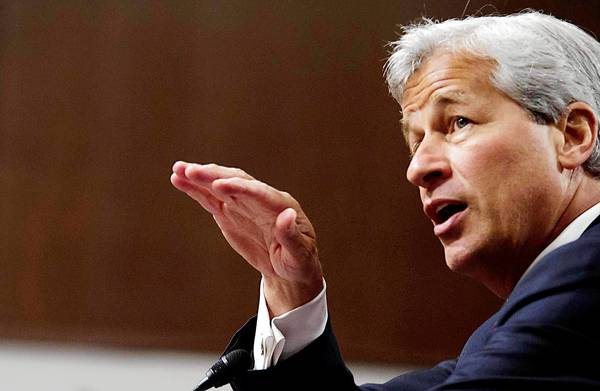 Jamie Dimon, chairman of the board, president and CEO of JPMorgan Chase testifies before a U.S. Senate Banking Committee committee hearing. Some of the nations most sophisticated banks  JPMorgan Chase, Citibank, Merrill Lynch and BofA clamored to get involved in the $8.2 billion Zell deal. Then, together with Tribune Co.'s top leadership and advisers, they pushed ahead despite mounting evidence that the company's business was deteriorating.