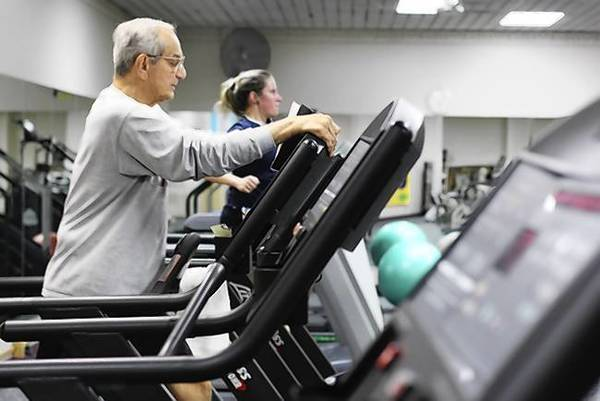 The park district's Park Plus Fitness Center has seen an increase in members since December.