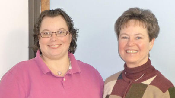 Elderhaven, a new adult foster care facility in Gaylord, is managed by Stacy Bishop (l) and owned by Pam Lynch.
