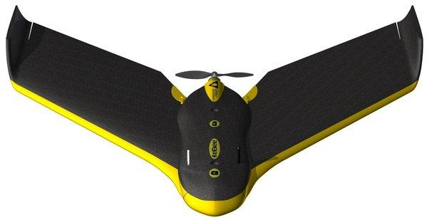 Sensefly's eBee mapmaker, showcased at CES.