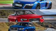 Audi will use the 2013 Detroit Auto Show to add a little more speed to its lineup.
