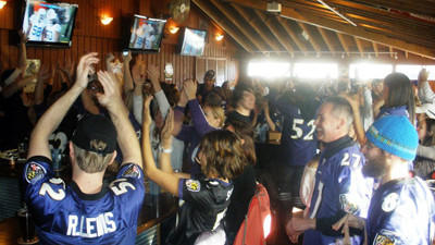 Ravens fans find a home away from home in Denver