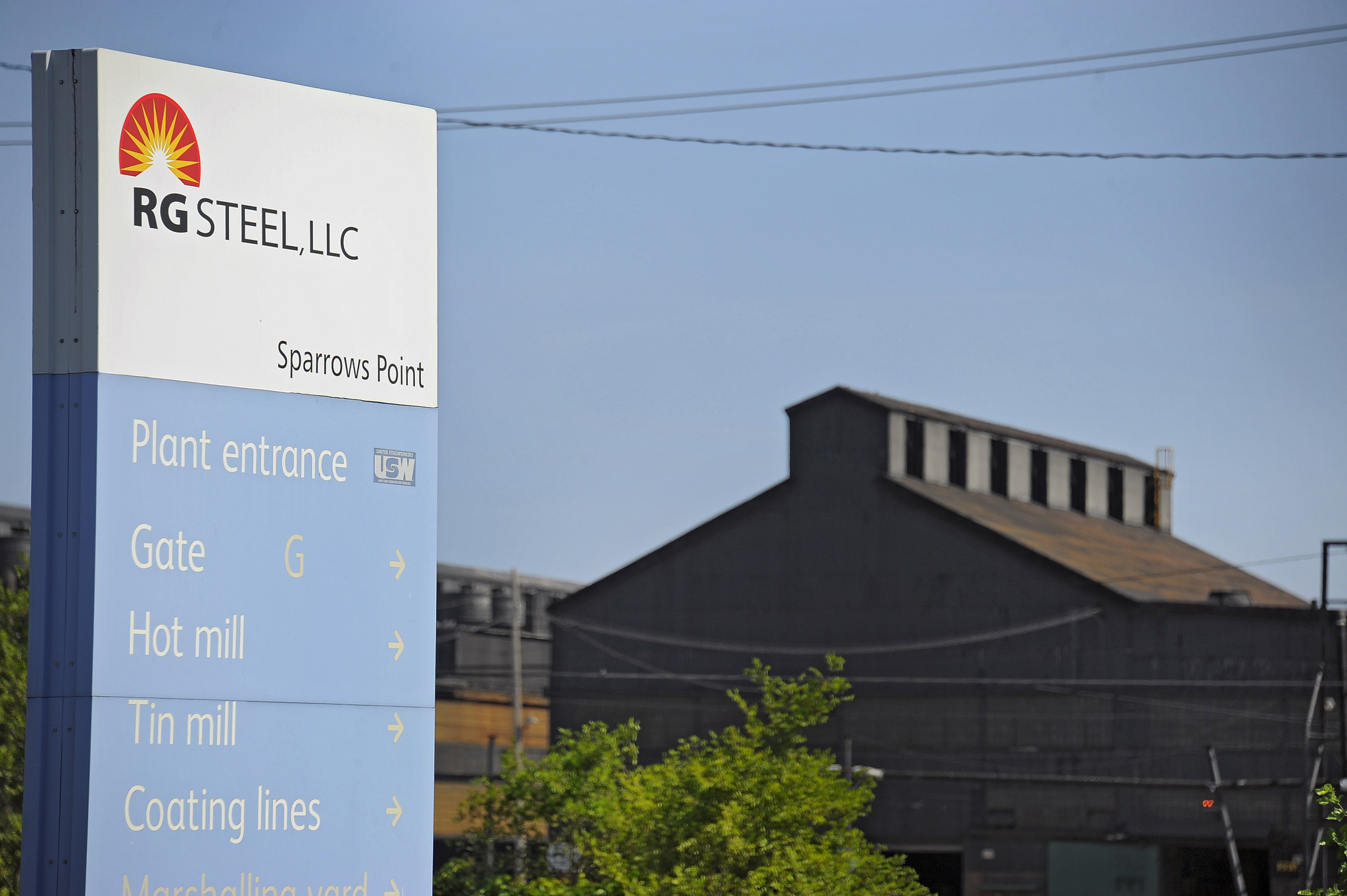 R G Steel Sparrows Point RG Steel files 'clawba...