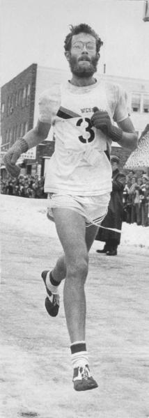 Wesleyan graduate Amby Burfoot won the 1968 Boston Marathon. Burfoot went on to become editor-in-chief of Runner's World magazine and has written several books.