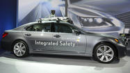 CES: Audi, Lexus explore self-driving cars