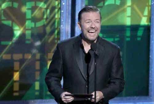 "Ricky Gervais will be a guest on ""The Ellen DeGeneres Show"" and ""Conan"""