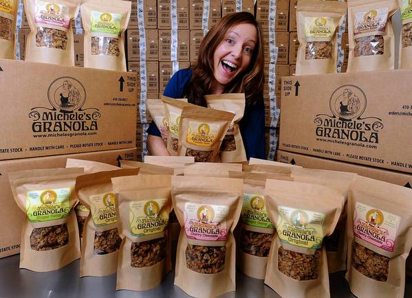 Michele Thornett, who started out 8 years ago making granola in her kitchen for friends, has turned her passion into Michele's Granola.