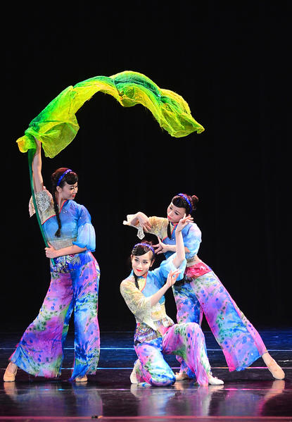 The Hong Kong Dance Company performed Tuesday afternoon at The Maryland Theatre in downtown Hagerstown.