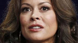 Brooke Burke-Charvet reveals cancer-surgery scar on her throat