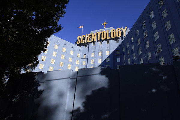 The Scientology building on Fountain Avenue in Los Angeles.