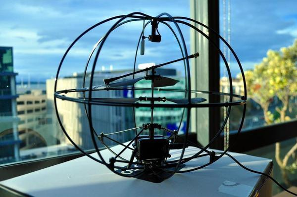 The Puzzlebox Orbit, a helicopter controlled by brain waves
