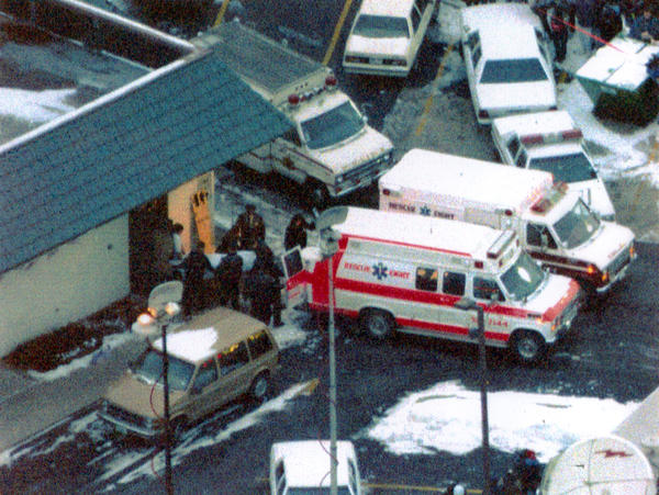 Seven people were found shot to death at Brown's Chicken & Pasta in Palatine on Jan. 8, 1993. Juan Luna and James Degorski were convicted and sentenced to life in prison.