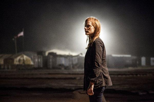 "Jessica Chastain and her movie, ""Zero Dark Thirty,"" both figure to be nominees when Oscar nods are announced Thursday morning."