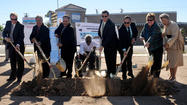 Bus transfer terminal breaks ground