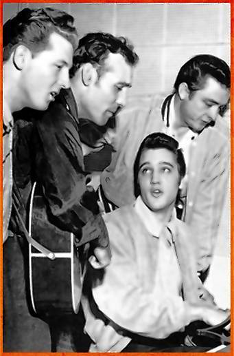 The music and lives Jerry Lee Lewis, left, Carl Perkins, Elvis Presley and Johnny Cash are the basis of 'The Million Dollar Quartet' playing at The Bushnell Jan. 8-13.