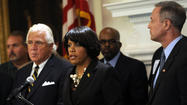 House Speaker Michael E. Busch and Senate President Thomas V. Mike Miller said Wednesday that they have reservations about a plan advanced by the Rawlings-Blake administration to expedite school renovation in Baltimore.