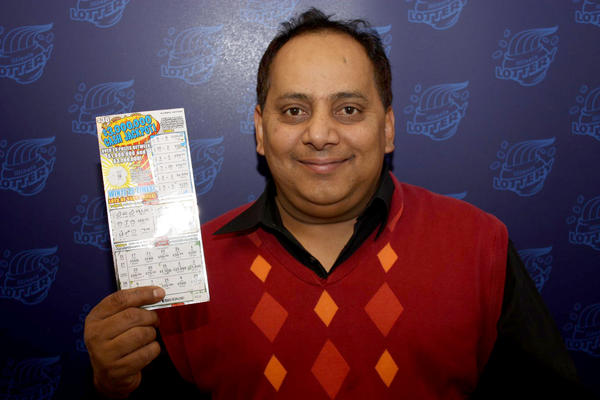 Urooj Khan, of West Rogers Park, won the $1 million in the lottery just weeks before officials say he was poisoned. (State lottery photo)