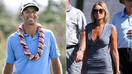 Dustin Johnson wins at Kapalua despite Paulina Gretzky's presence