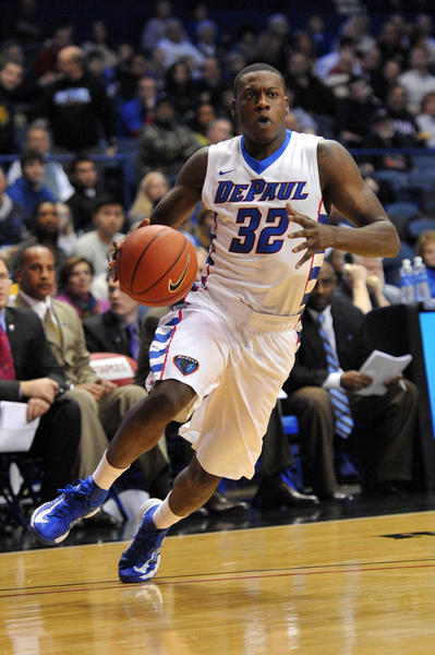 "DePaul, a charter member of Conference USA, left for the Big East with many other C-USA teams in 2005.  In December 2012, the Blue Demons and the rest of the ""Catholic 7"" basketball teams announced they would be leaving the Big East for a new conference."