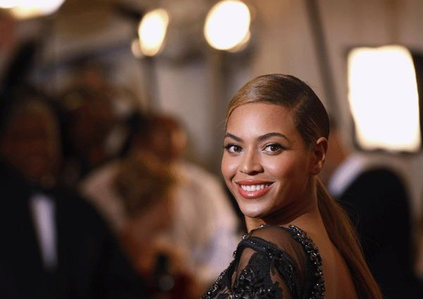 "Singer Beyonce Knowles arrives at the Metropolitan Museum of Art Costume Institute Benefit celebrating the opening of ""Schiaparelli and Prada: Impossible Conversations"" exhibition in New York, May 7, 2012."