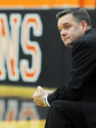 Oakland Mills boys basketball coach Jon Browne
