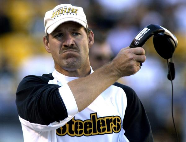 Bill Cowher coached the Pittsburgh Steelers for 15 years but has spent the last six as an NFL analyst for CBS.