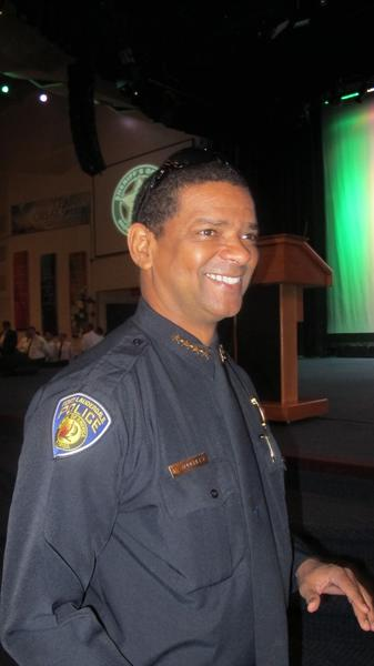 Fort Lauderdale Police Chief Frank Adderley, formerly Scott Israel's boss
