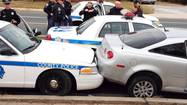 Police chase in Northeast Baltimore ends in Baltimore Co.