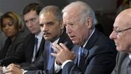 "<span style=""font-size: small;"">WASHINGTON (AP) — Vice President Joe Biden on Wednesday heard personal stories of gun violence from representatives of victims groups and gun-safety organizations as he drafts the Obama administration's response to the shooting at a Connecticut elementary school. He pledged that action would be taken.</span>"