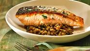 <b>The Top 10 recipes of 2011 (plus five runners-up):</b> Crispy-skinned salmon, whole wheat apple butter cake, chickpea salad with chorizo and more.