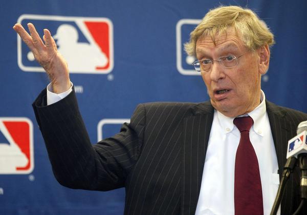Baseball Commissioner Bud Selig