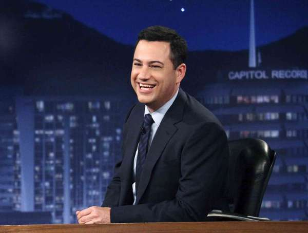 Jimmy Kimmel has moved to an earlier time to take on David Letterman and Jay Leno.