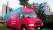 Florida Hospital rolled out its new Healthy 100 Women's Mobile Health Coach Wednesday. The fully loaded RV aims to bring preventive health screenings to women where they work and live.