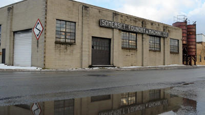 John Toth, owner of Kanter Iron and Steel, purchased the Somerset Foundry building.