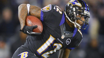 Pro Bowl return specialist Jacoby Jones says, 'I've got that bu…