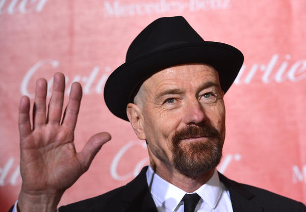 Bryan Cranston at the Palm Springs International Film Festival Awards Gala.