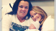 Rosie O'Donnell announces new baby girl with Michelle Rounds