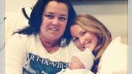 Rosie O'Donnell and Michelle Rounds have a new baby