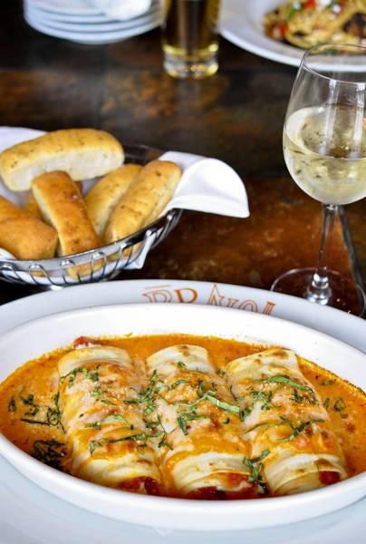 Meatball & Pepperoni Manicotti from Bravo! Cucina Italiana.