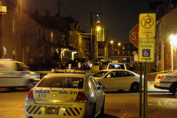 Allentown police investigate the Tuesday shooting of a young man and woman. The shooting was reported at 5:55 p.m. on New Street, between Allen and Liberty streets. Police on Wednesday asked for the public's help in their investigation.