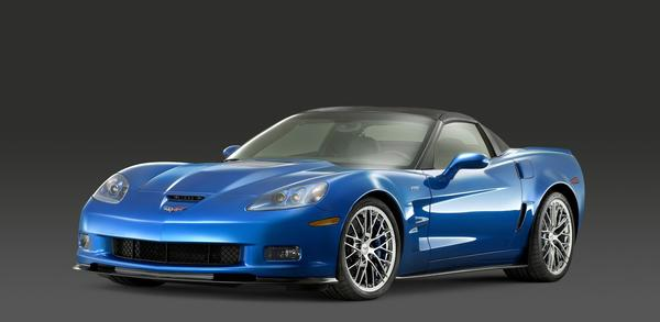The 2009 Corvette ZR1 is part of the sixth generation and features fixed headlamps.