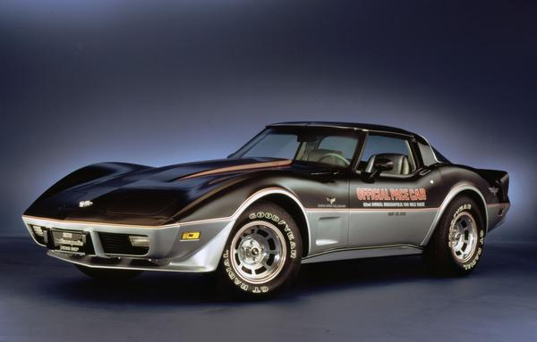 The Corvette was selected as the Indianapolis 500 pace car in 1978.