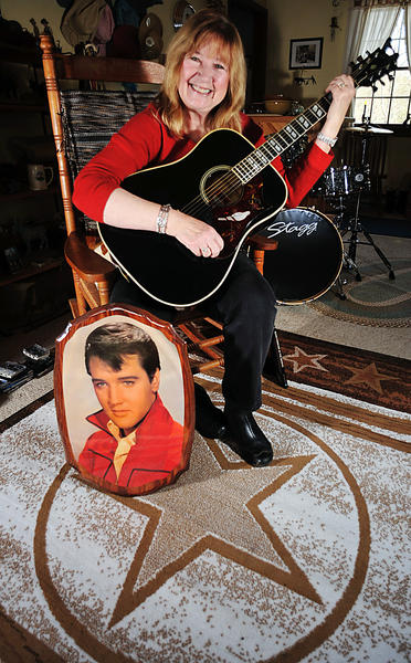 Jeanne Ward will perform several songs by Elvis Presley and emcee the show at an Elvis tribute concert Saturday, Jan. 12, in Hancock.