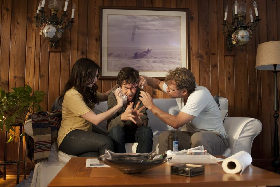 A novelist still pines for his wife three years after she left him for another man, while their collegiate daughter publishes her first book and their teen son (also a writer) gets involved with a troubled girl. With Greg Kinnear, Jennifer Connelly, Lily Collins and Logan Lerman. Written and directed by Josh Boone. Millennium Entertainment