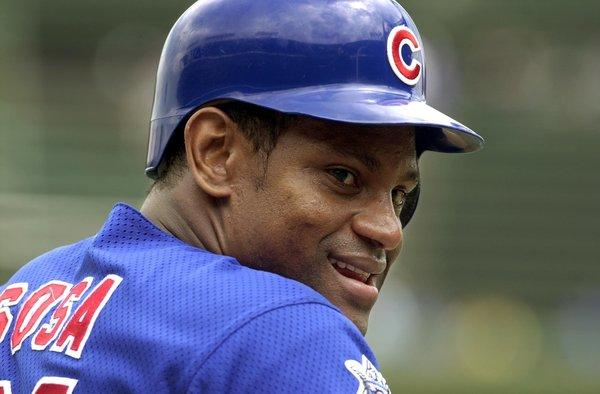 Former Cubs star Sammy Sosa got only 12.5 percent of the vote.