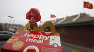 After a successful pilot program, McDonald's has pledged to distribute 15 million books in England over the next two years. In its Happy Meals. Instead of toys.